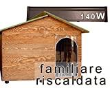 Canil para o amor - casinha de cachorro de madeira - família