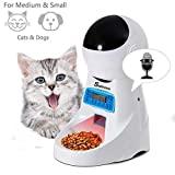 Comedouro automático Sailnovo para cães e gatos, alimentação animal ...