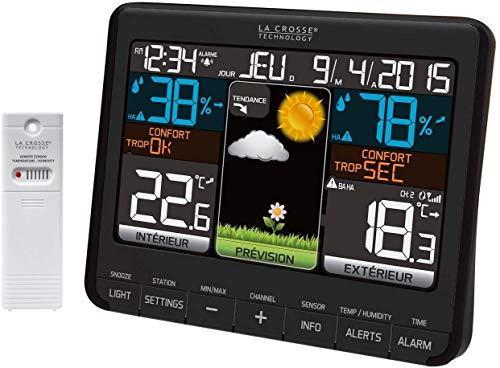 Tecnologia La Crosse - WS6825 - Estação meteorológica colorida -...