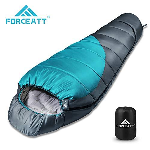 Saco de dormir para múmia Forceatt, -10 ℃ -15 ℃, saco de dormir ...