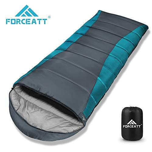 Saco de dormir de acampamento Forceatt, temperatura ...