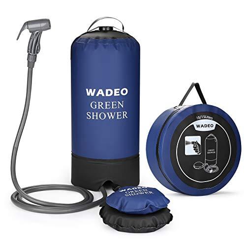 Chuveiro de acampamento nômade WADEO 15L
