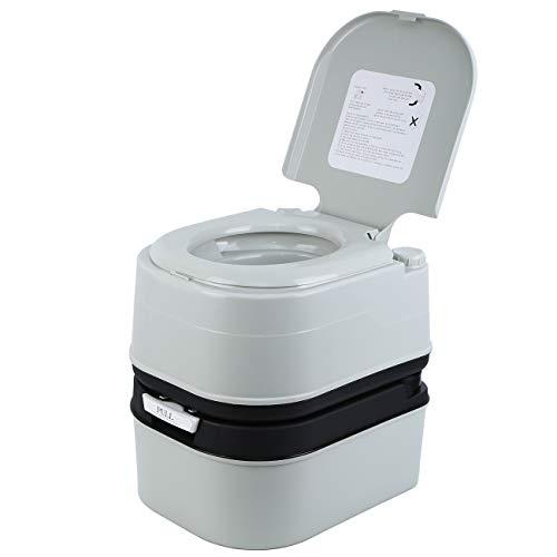 Toalete de acampamento MuGuang Toalete portátil de viagem para ...