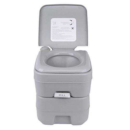 Ridgeyard 20 Deluxe Portable Travel Camping Toalete ...