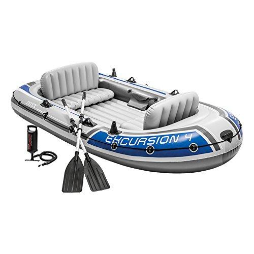 Barco inflável da excursão 4 da Intex