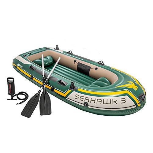 INTEX Seahawk 3 bote verde amarelo 2,95 mx 1,37 mx ...
