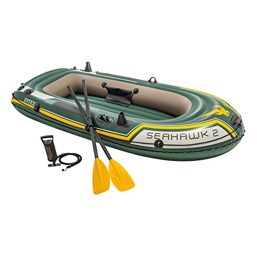 INTEX Seahawk 2 Bote Verde e Amarelo 236 cm x 114 cm ...