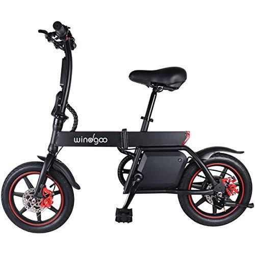 Bicicleta elétrica dobrável Windgoo, motocicleta 350W