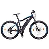 NCM Moscow mountain bike elétrica, bateria de 250 W, 48 V 13 Ah 624 Wh (preta 29 ')