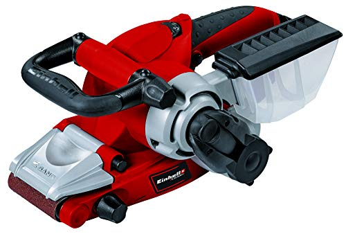 Lixadeira de cinta Einhell TE-BS 8540 E, 850 W, vermelha