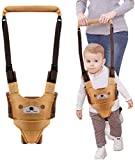 Assistente de caminhada infantil WIKEA, cinto de bebê, dispositivo de segurança para crianças, suporte portátil, auxiliar de caminhada, cinto de segurança (amarelo)