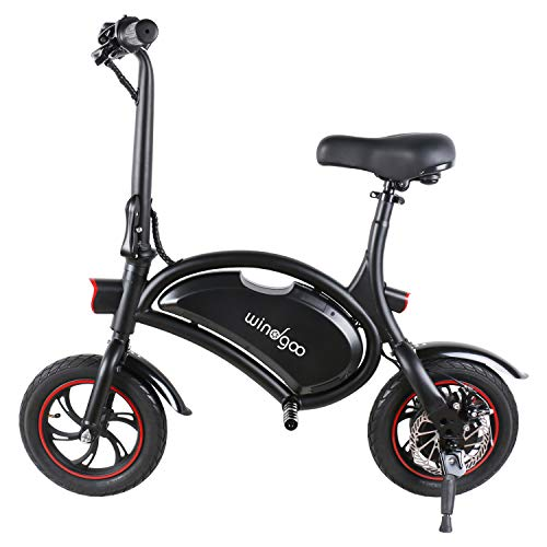 Bicicleta elétrica Windgoo, bicicleta elétrica, bicicleta elétrica dobrável, rodas de 12 '', LG 36V / 4,4Ah, motor 350W, velocidade máxima de 30 km / h (B15) (B15)