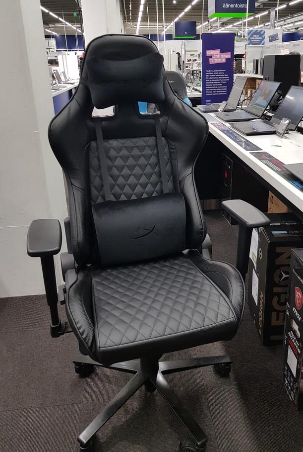 cadeira de jogo preta