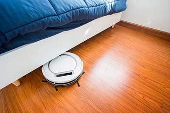 Aspirador robô de limpeza debaixo da cama
