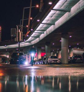scooter noturno