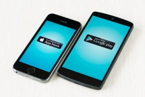 Sistemas operacionais Apple e Android