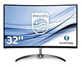 Philips 328E8QJAB5 Monitor LCD VA de 31,5 polegadas para jogos, Full HD curvado, HDMI ...