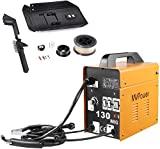 Máquina de solda MVPower MIG 130 230V, máquina de solda sem fim, equipamentos para ...