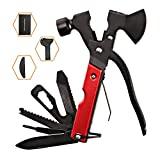 Ferramentas de kit de sobrevivência, ferramentas multifuncionais 18 em 1 feitas de aço inoxidável, ...