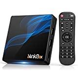 NinkBox Android TV Box 10.0 N2 Max, 4 GB de RAM 64 GB ROM, RK3318 Quad-Core 64-Bit-CPU ...
