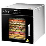 MiMiya e secador de frutas secador de vegetais desidratador de alimentos 1000W ...