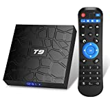 Android 9.0 TV BOX, Android Box com controle remoto, Turewell T9 RK3318 Quad Core 64 ...