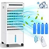5 em 1 ar condicionado, grande refrigerador de ar, radiador ...