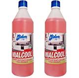 Desinfetante desengordurante multiuso Midor com uma mistura de álcoois, ...