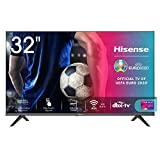 Hisense 32AE5500F 32 'HD LED Smart TV, sem moldura, reprodutor de mídia USB, sintonizador ...