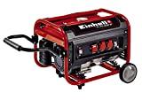 Einhell 4152550 gerador a gasolina, 3500 W, 230 V, vermelho, preto