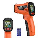 Termômetro infravermelho, termômetro digital portátil a laser PEAKMETER, pistola ...