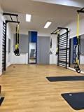 Encosto de aço para ginástica sueca ARTIMEX - usado em residências, ...