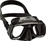 Cressi Superocchio, máscara de mergulho unissex para adultos, preta