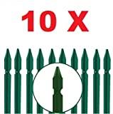 Barra de ferro em forma de T plastificada verde 10 PCS 30x30x3mm para ...
