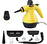 Máquina de limpeza a vapor, máquina de limpeza a vapor portátil versátil com 9 acessórios para ...