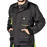 Jaqueta de trabalho masculina Mazalat, jaqueta de trabalho, bolso duplo para ferramentas ...
