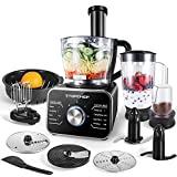Máquina de cozinha Topchef Máquina de cozinha compacta 1100W (com acessórios: ...