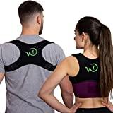 Corretor de postura WAXO - fita de postura - pescoço, ombros, costas -...