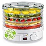 Desidratador SPICE TESEKO Desidratador para alimentos 5 compartimentos de temperatura ...