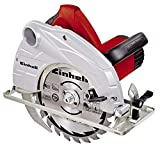 Serra circular manual Einhell 4330937 TH-CS 1400, vermelha, 1400 W.