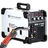 STAHLWERK MIG 175 ST IGBT - Máquina de solda a gás MIG MAG com 175 amperes, ...