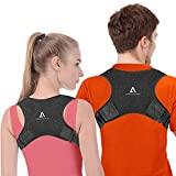 Corretor de postura ANOOPSYCHE Corretor de postura respirável ajustável, ...
