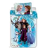 Frozen II - conjunto de berço, 100% algodão, desenho: Elsa & Anna, ...