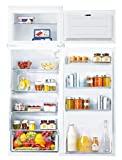 Candy A + CFBD 2450 / 2E com porta dupla, geladeira embutida, branco