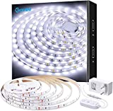 Govee LED Strip 5m regulável branco frio, iluminação interior para ...