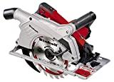 Einhell 4330970 Te-CS 190 Serra circular manual, adaptador de sucção, ...