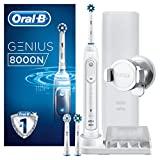 Oral-B Genius 8000N escova de dentes elétrica recarregável com conexão Bluetooth, ...