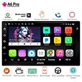 ATOTO A6 Android Car GPS Navigation Radio com Dual Bluetooth e carregamento rápido ...