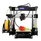 ALUNAR DIY 3D Printer Reprap Kit de auto-montagem Prusa I3 Desktop CNC FDM ...