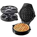 Russell Hobbs Fiesta Waffle, Donut & Cupcake Maker, 900W, preto, ...